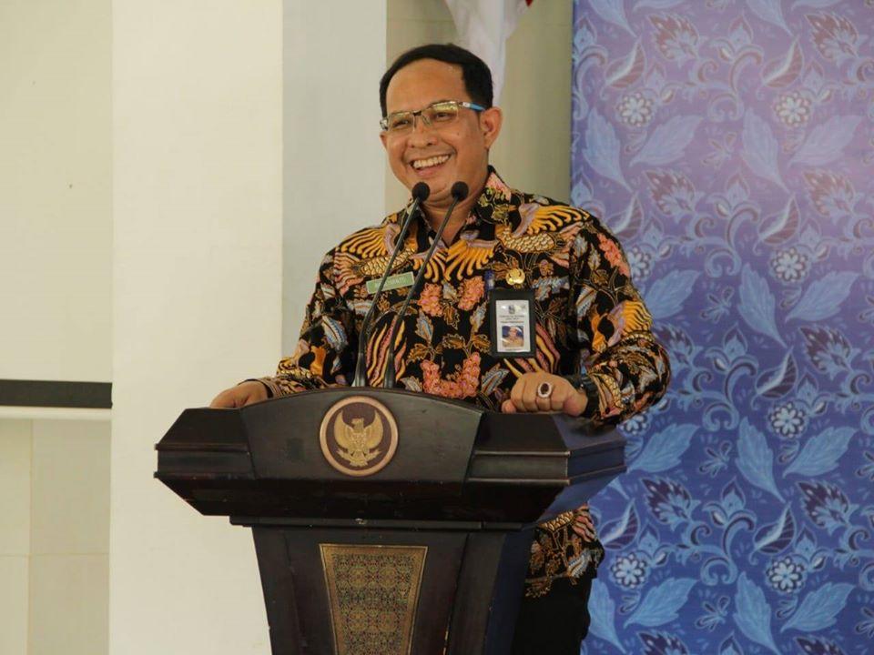 Sekretaris Dinas Pendidikan Provinsi Jawa Timur Bapak Ramliyanto, SP. MP Memberikan Pembinaan Di Wilayah Cabang Dinas Pendidikan Wilayah Kabupaten Pacitan