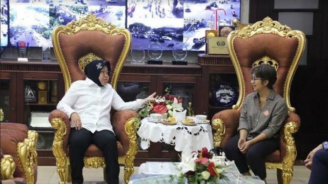 Risma Rumuskan Kurikulum Antikorupsi untuk Pelajar di Surabaya